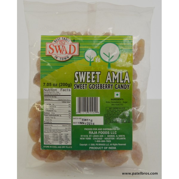 Sweet Amla Candy 7.05 OZ / 200 Gms