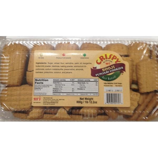 Crispy Sooji Punjabi Cookies 28 Oz / 800 Gms
