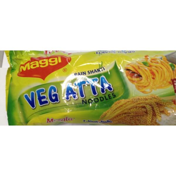 Maggi Masala Veg Atta Noodles 10.3 Oz / 292 Gms