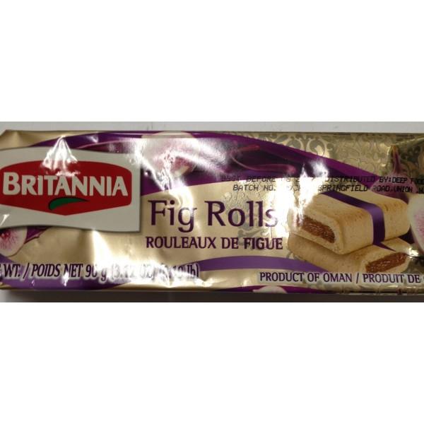 Britannia Fig Rolls 3.17 Oz / 90 Gms