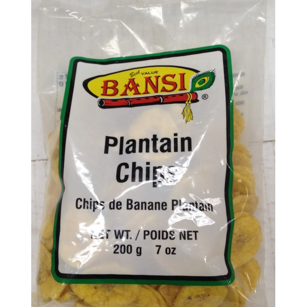 Bansi Plantain Chips 7 Oz / 200 Gms