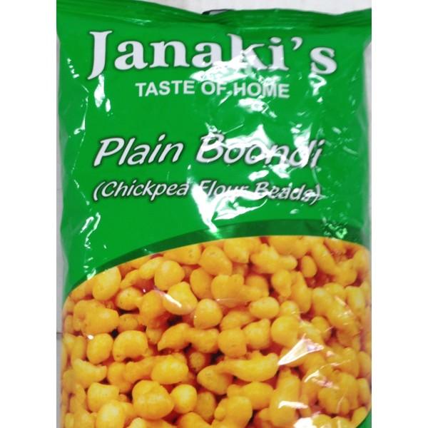 Janaki's Plain Boondi 7 Oz / 198 Gms