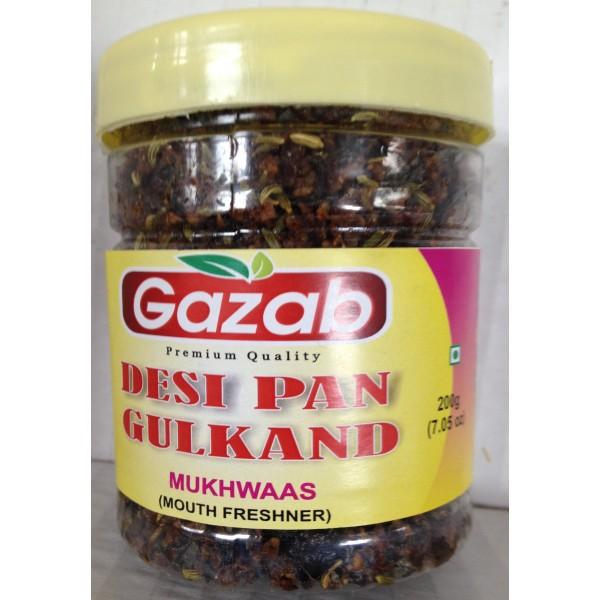 Gazab Desi Pan Gulkand 7.5 Oz / 213 Gms