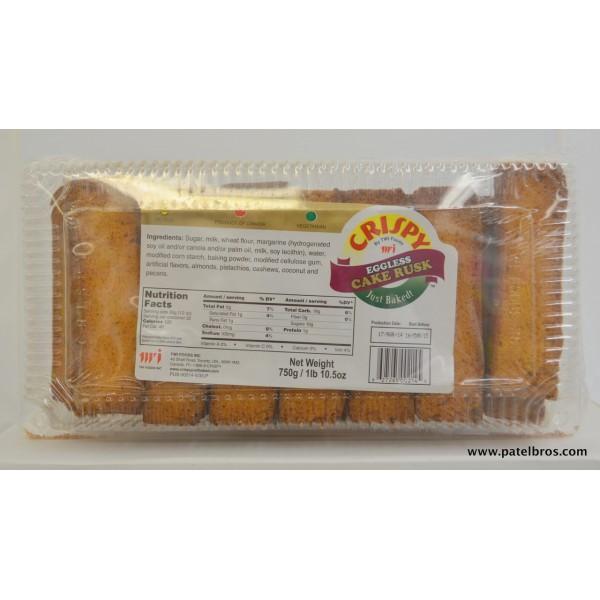 Crispy Eggless Cake Rusks  26.45 OZ / 750 Gms
