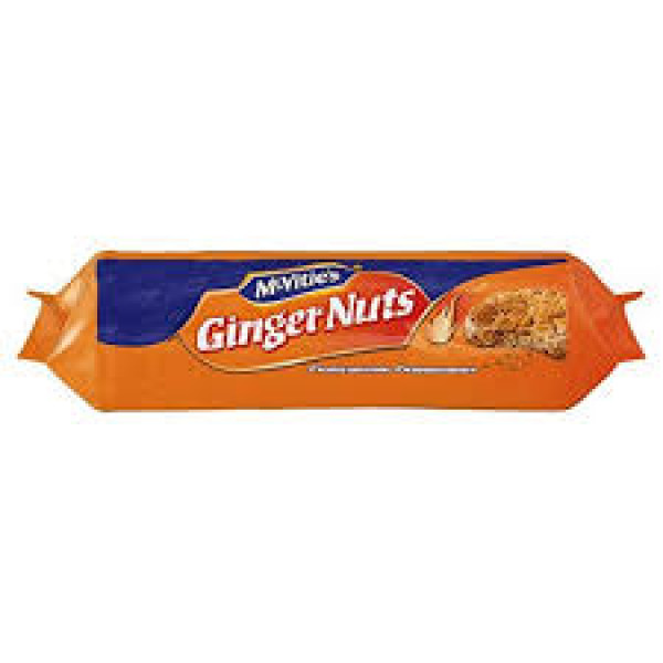 McVities  Ginger Nuts 250 Gms