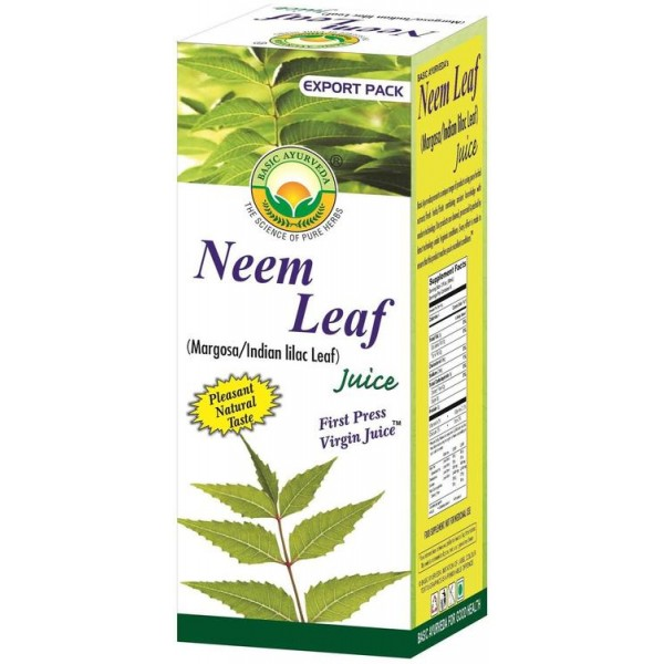 Basic Ayurveda Neem Leaf Juice 16.9 Oz / 480 ml
