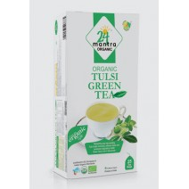 24 Mantra Organic Tulsi 1.32 oz / 37.5 Gms 25 Bags