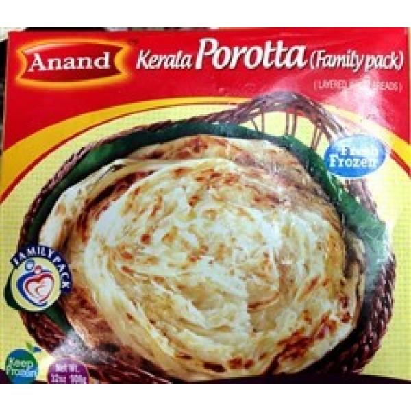 Anand Kerala Porotta  32 Oz / 1 Kg ( 4 No's)