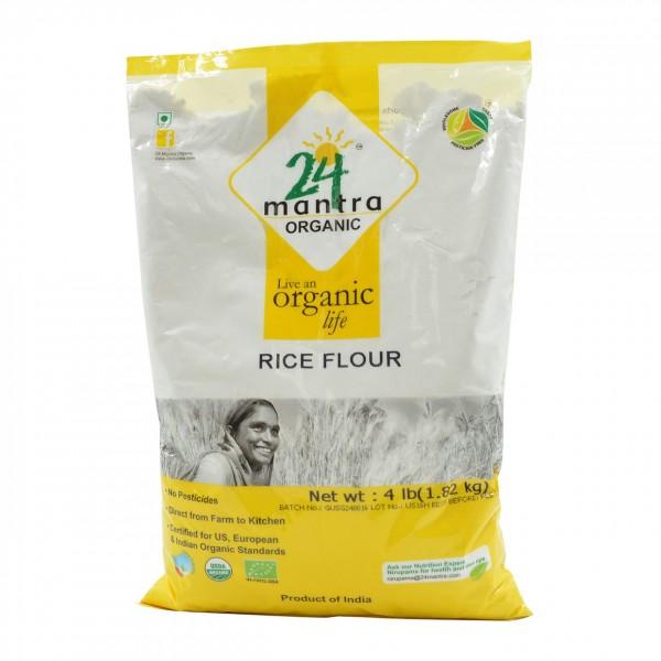 24 Mantra Organic Rice Flour 4 Lb / 1.8 Kg