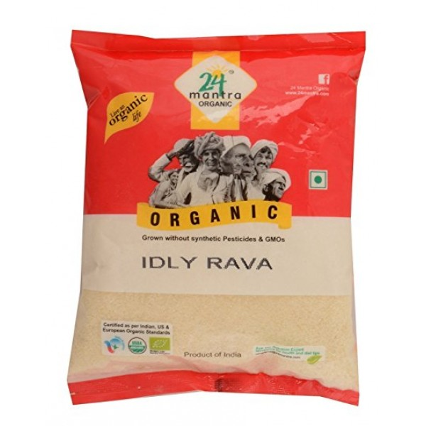 24 Mantra Organic Idly Rave 4 Lb / 1.8 kg