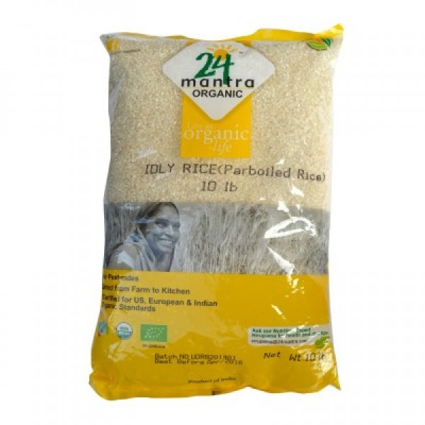 24 Mantra Organic Idly Rice 10lb