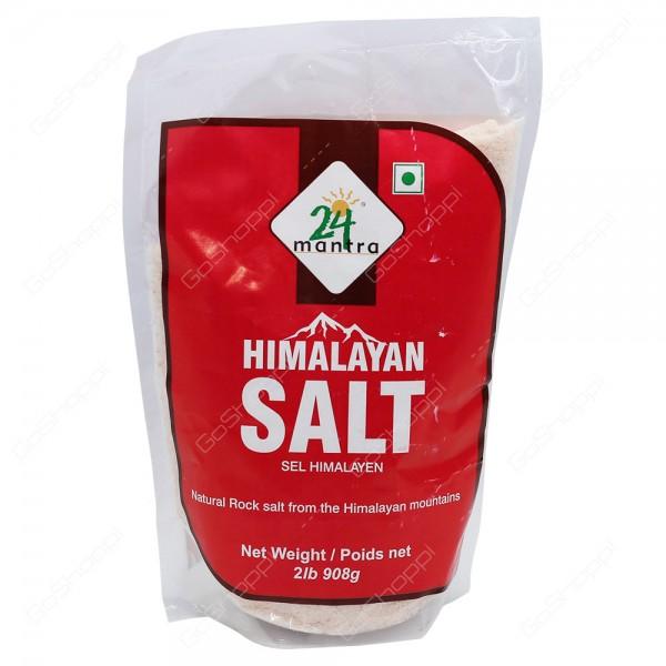 24 Mantra Himalayan Salt 2 lb / 908 Gms