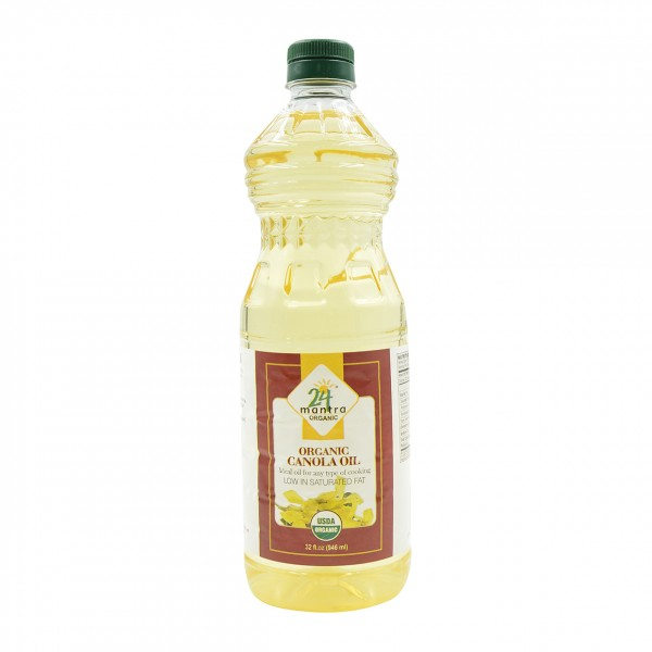 24 Mantra Organic Canola Oil 31 Oz / 946 ml