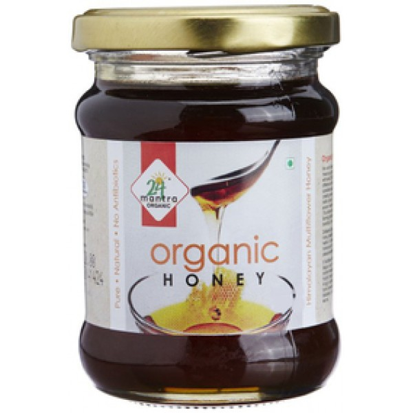 24 Mantra Organic Honey 12.5 Oz / 350 Gms