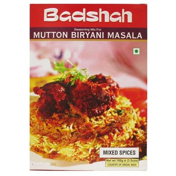 Badshah Mutton Biryani  Masala 3.5 OZ / 100 Gms