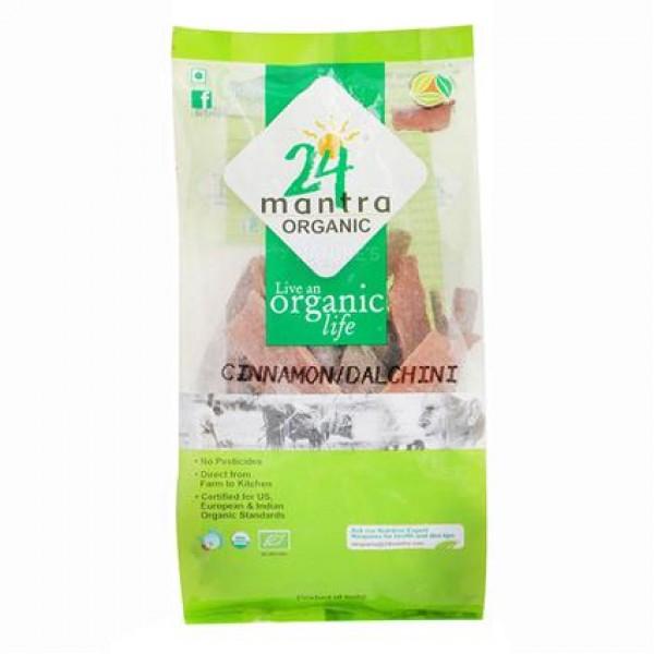 24 Mantra Organic Cinammon Sticks 7 oz / 200  Gms