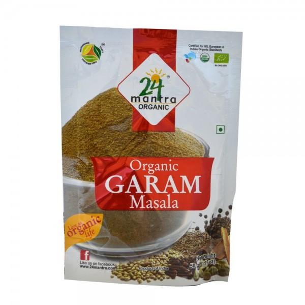 24 Mantra Organic Garam Masala 1.7 oz / 50 gms