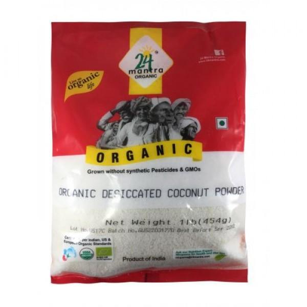 24 Mantra Organic Coconut Powder 1 Lb / 454 Gms