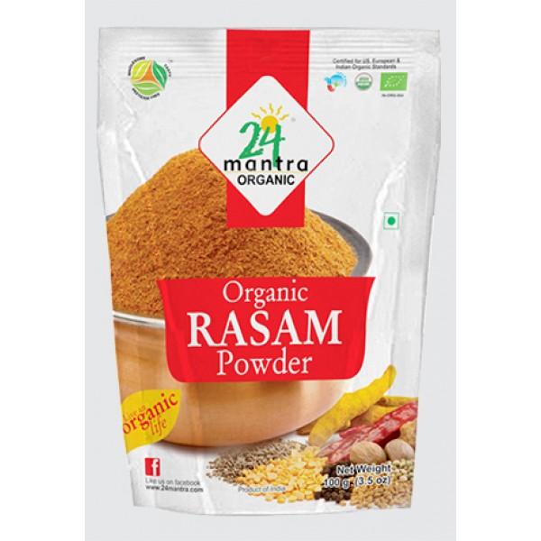 24 Mantra Organic Rasam Powder 3.5 Oz / 100 Gms