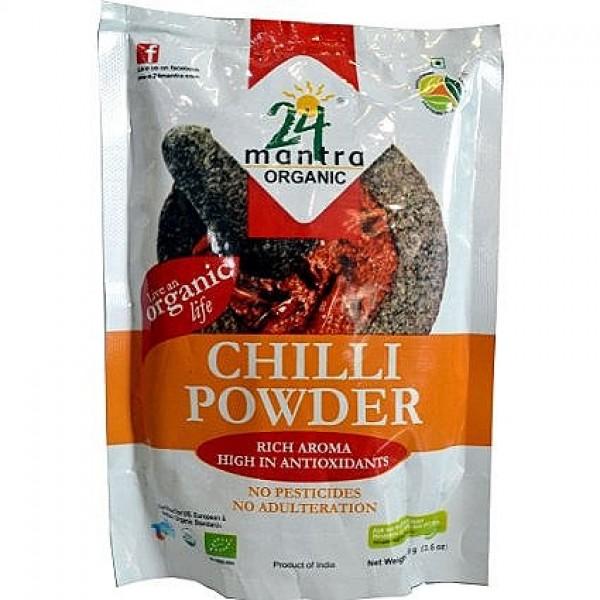 24 Mantra Organic Chilli Powder 7 Oz / 200 Gms