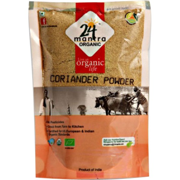 24 Mantra Organic Coriander powder 7 Oz / 200 Gms