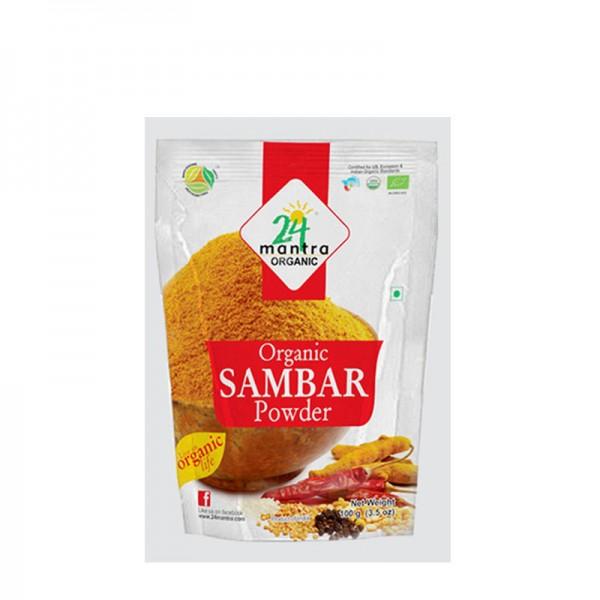 24 Mantra Organic Samber Powder 3.5 Oz / 100 Gms