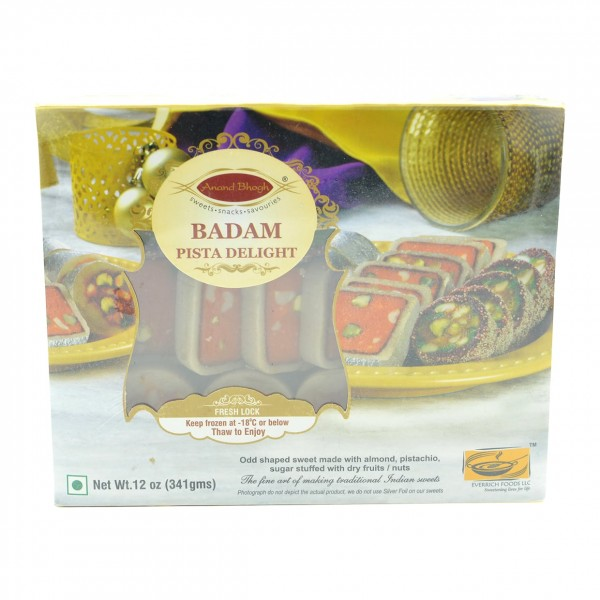 Anandbhog Badam Pista Delight 12 Oz / 340 Gms