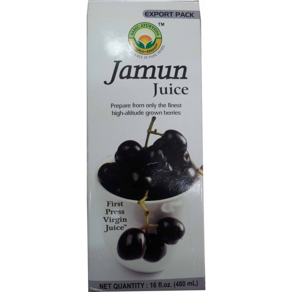 Basic Ayurveda  Jamun Juice 16.9 Oz / 480 Gms