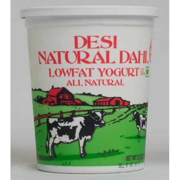 Desi Low Fat Milk Dahi Yogurt 32 OZ / 906.88 Gms