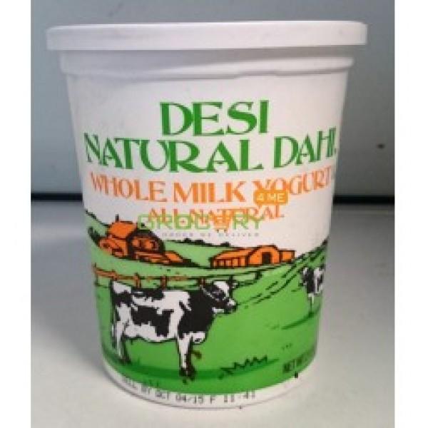 Desi Whole Milk Dahi Yogurt 32 OZ / 906.88 Gms