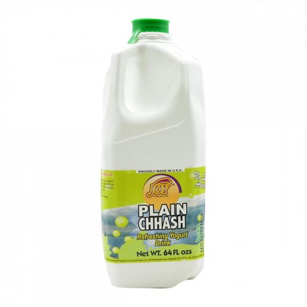 Joy Plain Chaass - Yogurt Drink/Butter Milk 64 OZ / 1813.76 Gms